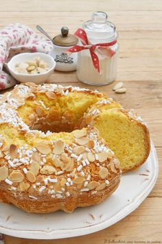 Sweet Recipes, Cake Recipes, Dessert Recipes, Torte Cake, Baking And Pastry, Almond Cakes, Cake Flavors, Eat Dessert First, Sweet Cakes