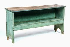 - Auctioneers & Appraisers : Full Details for Lot 545 Rustic Pine Furniture, Primitive Furniture, Country Furniture, Farmhouse Furniture, Vintage Furniture, Painted Furniture, Farmhouse Bench, Rustic Bench, Rustic Wood