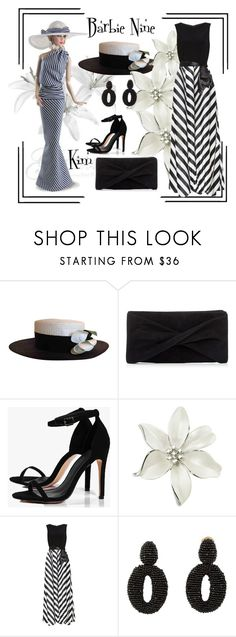 """""""Barbie Nine"""" by kimmie-plus2 on Polyvore featuring Chanel, Reiss, Boohoo, Gina Bacconi and Oscar de la Renta"""