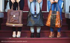 30b4d8fe6d designer diaper bags often mistaken for luxury leather hand bags.