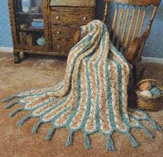 World's Fastest Crochet Afghan Pattern