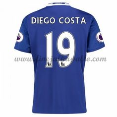 Jalkapallo Pelipaidat Chelsea 2016-17 Diego Costa 19 Kotipaita Premier League, Chelsea 2016, Diego Costa, Football Kits, Sports, Orlando, Soccer Kits, Hs Sports, Soccer Outfits