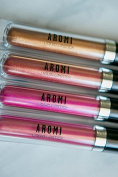 Aromi metallic matte lipsticks are vegan and cruelty-free and have a unique metallic finish.  They are very long-lasting and are actually comfortable to wear! http://www.aromibeauty.com/metallic-liquid-lipstick/