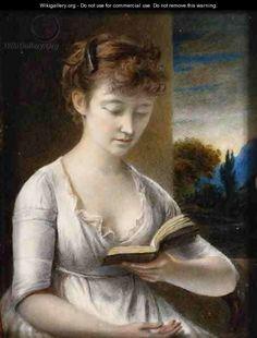 Mrs John Hazlitt Reading - by John Hazlitt