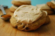 Mexican mocha cookies with Kahlua icing