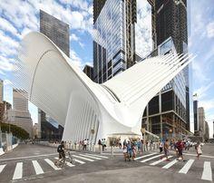 World Trade Center Transportation Hub,Courtesy of Santiago Calatrava - Photography: Hufton+Crow