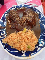 MOLE ROJO (AUTHENTIC MEXICAN FOOD)