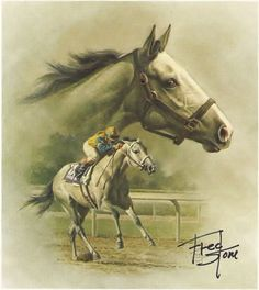 Lady's Secret - 1986 Horse of the Year Signed ...