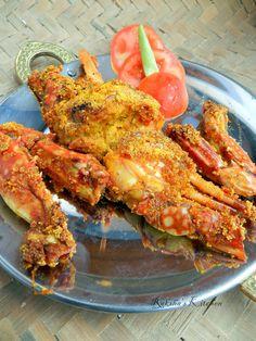 Fried Crabs | Rava Fried Crabs | Crab Fry | Goan Recipes