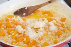 risotto zucca e taleggio