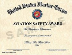 Free Award Templates For Word 8 Aviation Certificate Templates  Free Word & Pdf  Certificates .