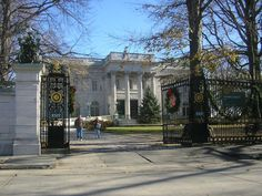 Adding to the treasury of gilded age Newport mansions is Marble House, completed in 1892 as a gift from a Vanderbilt heir to his wife. The house features 500,000 square feet of marble.