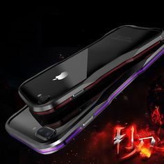 New Metal Shockproof Premium Frame Case w  Sound Chamber - Aluminum Frame for  iPhone 7 8 X XS XR Series 05bda93dff9d6