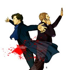 Sherlock BBC FanArt: A note by *NinaKask on deviantART