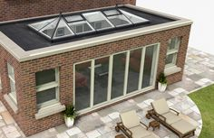 Lantern sky light - We use a variety of styles when creating an orangery - Enquire today for a bespoke style... 0800 854 803