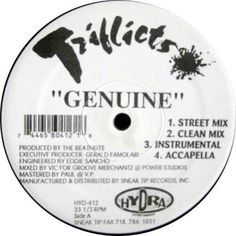 Triflicts - Genuine / Don't Make Me Try