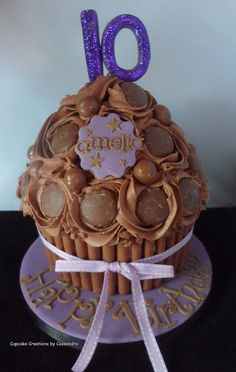 giant chocolate cupcake   Flickr - Photo Sharing!