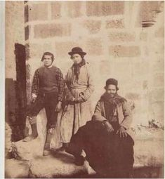 #Jews in #Jerusalem 1880; there are only two explanations. A. Jews invented a Time Machine. B. Jews actually dwelt there.