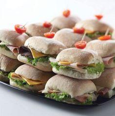 Onwijs 9 Best mini sandwich wraps images   Mini sandwiches, Party EN-37