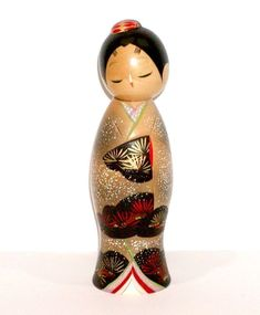 JAPANESE LIMITED EDITION KOKESHI DOLL - JYUEI - WHISPERING TREES BY AOKI RYOKA ! | eBay