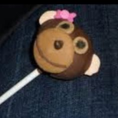 Baby Girl Monkey Pops For A Shower Toledo Ohio Candy Apples