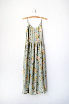 vintage 90s dress | August Orchard Dress We would have worn this over a white baby doll tee