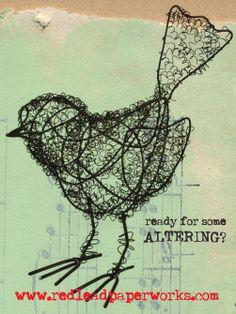 wire birds - Google Search