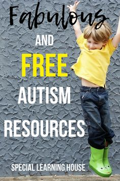 FREE AUTISM RESOURCES // Printable activities, autism home program resources, visual schedules & more! // #autism #spd #adhd