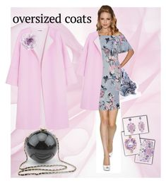 """#oversizedcoats"" by manueladimauro ❤ liked on Polyvore featuring Jil Sander, nooki design, Monet, Crivelli, Cara and oversizedcoats"