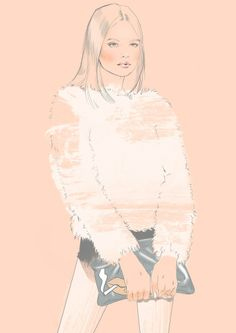 Fashion illustration by Alina Grinpauka