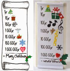 Xmas Cards, Xmas Tree, Advent Calendar, Cube, Merry, Concept, Lights, Big Shot, Holiday Decor