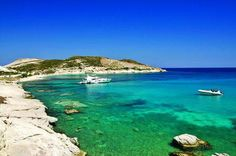 KIMOLOS Prassa beach can't wait anymore Greek Islands, To Go, Boat, Earth, Landscape, World, Amazing, Water, Beaches