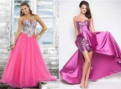 50 Vestidos de Debutantes: Azul, Rosa, Amarelo, Verde, Roxo