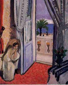 Matisse Interno a Nizza 1921