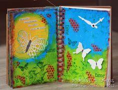 StampingMathilda: Art Journal - Your Living Canvas #8