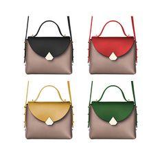 Borsa Baggy Bag  Bicolor