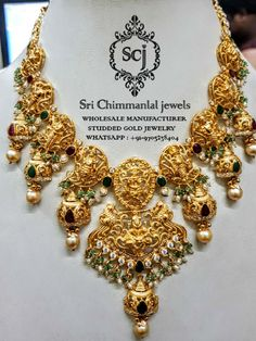 z,uncut,latest exclusive designer jewellery with best and full value of investment in wholesale price. Indian Jewelry Sets, Indian Jewellery Design, Jewelry Design, 24k Gold Jewelry, Gold Bangles, Diamond Necklace Set, Gold Necklace, Butterfly Jewelry, Temple Jewellery