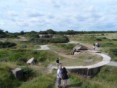 Herdenkingsplaats D-day Pointe du Hoc in Cricqueville-en-Bessin, Basse-Normandie