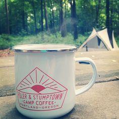 Poler x Stumptown camping mug in the wild.   #poler #polerstuff #campvibes