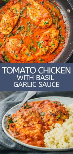 stovetop chicken breasts skillet cooked tomato garlic dinner sauce basil with keto the and on Chicken breasts skillet cooked on the stovetop with tomato sauce basil and garlicYou can find Chicken breast recipe and more on our website Chicken Recipes With Tomatoes, Chicken Sauce Recipes, Baked Chicken In Tomato Sauce Recipe, Chicken With Basil, Chicken Tomato Basil, Whole 30 Chicken Breast Recipe, Recipe With Tomatoes, Recipes With Tomato Paste, Recipes With Basil