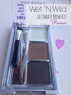 (4) Wet N Wild Ultimate Brow Kit - Review  #bbloggers this is a review and also I love and watch Leighannsays uses it quite a bit. I like how it looks on her.