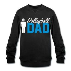 Volleyball Dad: Volleyball, beach volleyball, volleyball, ball, team, saying, funny, volleyball, sports, blow up beach point, victory, win, winner, Dad, papa, father's day, fan, fan shirt.