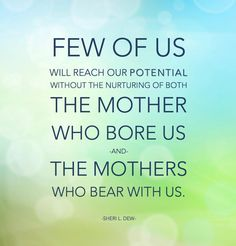"LIKE and SHARE if you agree that ""There is no greater good in all the world than motherhood."" –James E. Faust ... Enjoy more from Sheri Dew http://pinterest.com/pin/24066179230749448"