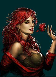 Gotham City Sirens - Poison Ivy by Yama Orce #Comics #Comic_Book