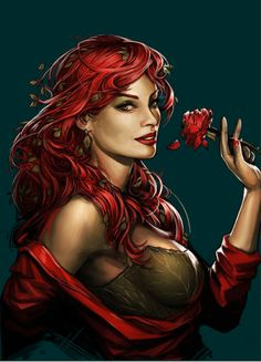 Gotham City Sirens - Poison Ivy by Yama Orce #Comics #Comic_Book                                                                                                                                                     More