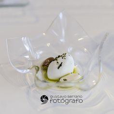 Ajo blanco con almendra del menú degustación 2014 de @Quique Dacosta, TOMORROWLAND