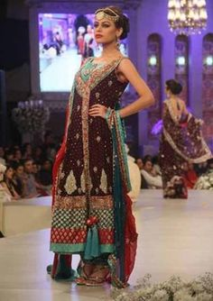pakistani bridal dresses 2013 | Pakistani Bridal Dress 2013 – 2014-3