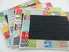 s.o.t.a.k handmade: patchwork placemats tute