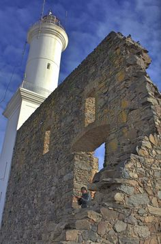 Photograph Colonia del Sacramento Lighthouse by Bruno Andrade on Beacon Of Hope, Beacon Of Light, Beacon Tower, Sacramento, Light Of My Life, Being In The World, Light House, Trip Planning, Places To See