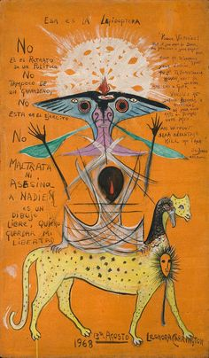 Leonora Carrington | Lepidoptera (1968), Available for Sale | Artsy